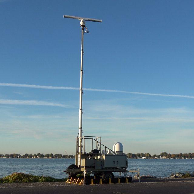 Rapid Deployment Border Security 2D X-Band Radar System