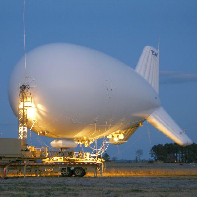 Aerostat Mounted Surveillance System