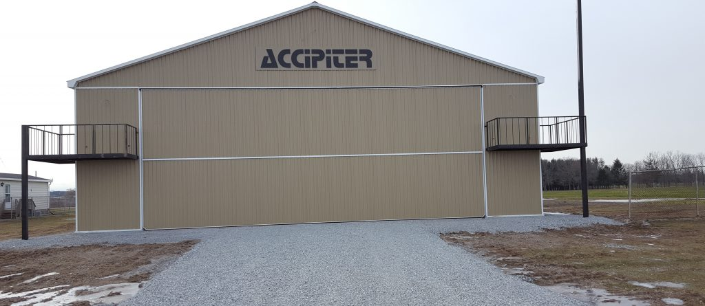 Photo of Accipiter New Hangar at Niagara Central Airport