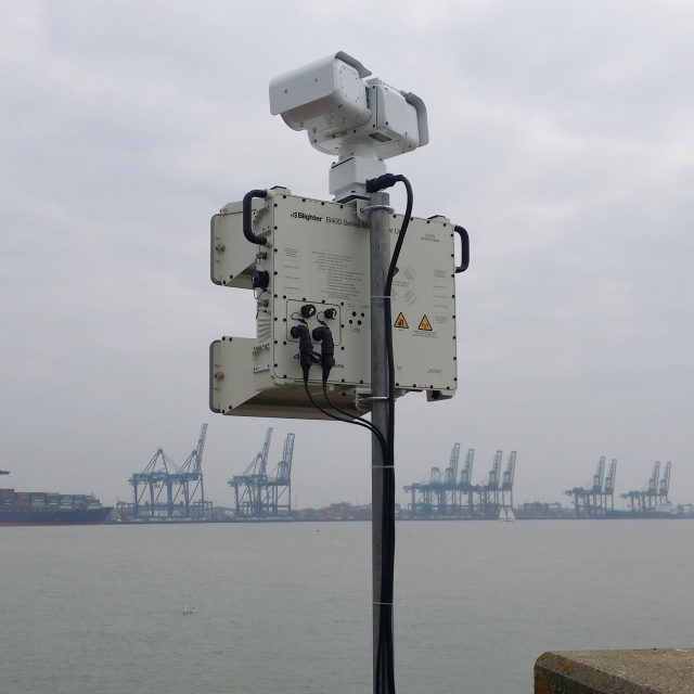 Critical Infrastructure Protection 2D Ku-Band ES-GSR Radar System