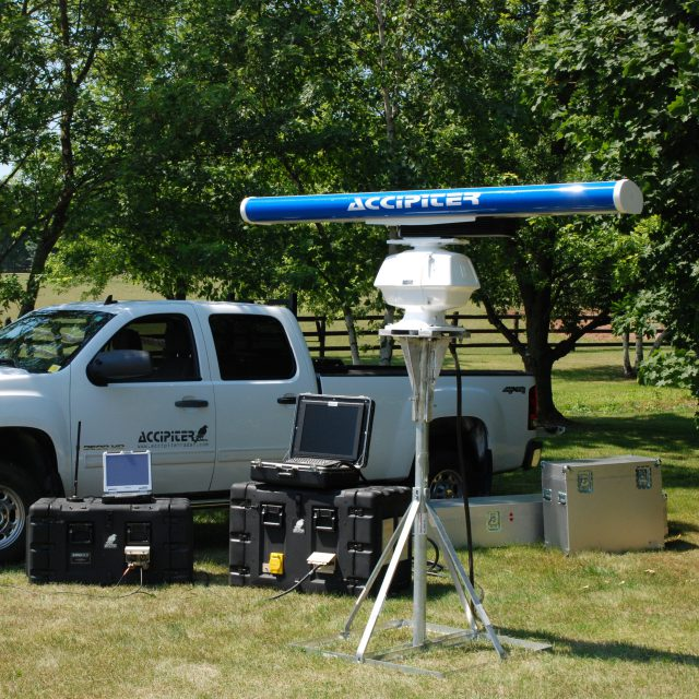 Portable Border Security Radar System