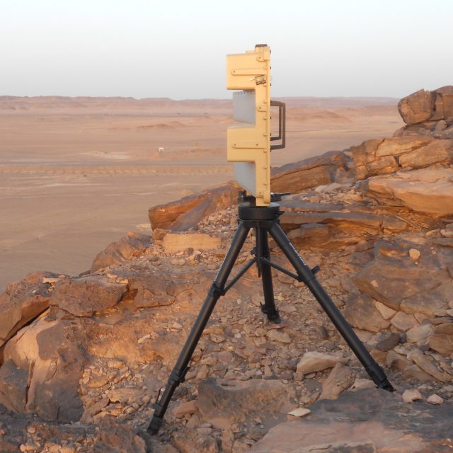 Rapid Deployment Border Security 2D Ku-Band ES-GSR Radar System